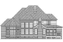 Home Plan - European Exterior - Rear Elevation Plan #119-349