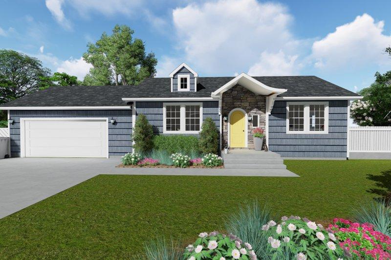House Plan Design - Ranch Exterior - Front Elevation Plan #1060-28