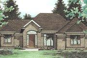 European Style House Plan - 3 Beds 2.5 Baths 2083 Sq/Ft Plan #20-153