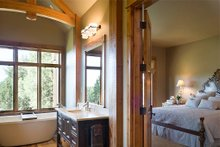 Home Plan - Master Bathroom - 5300 square foot Craftsman home
