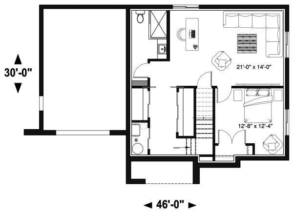 Home Plan - Standard Finished Basement