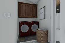 Traditional Interior - Laundry Plan #1060-45