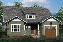 Home Plan - Craftsman Exterior - Front Elevation Plan #453-619