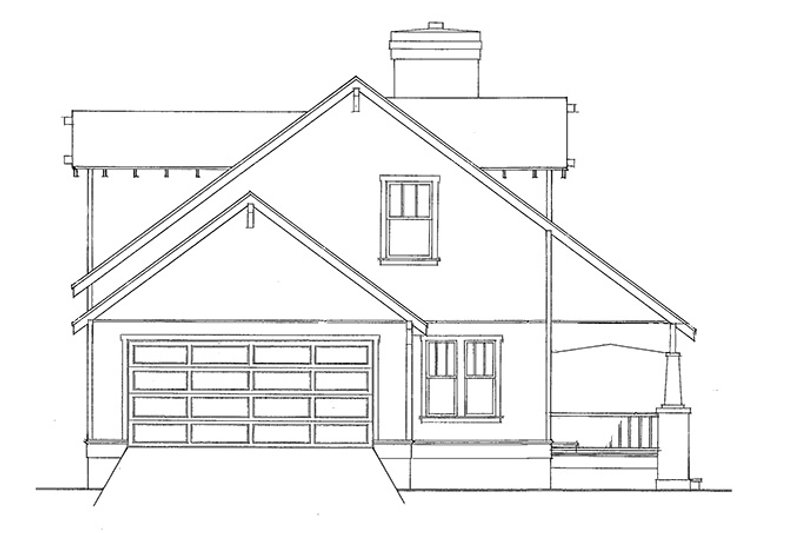 Country Exterior - Other Elevation Plan #140-174 - Houseplans.com