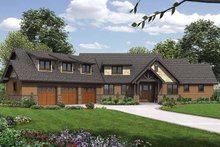 Home Plan - Craftsman Exterior - Front Elevation Plan #48-921