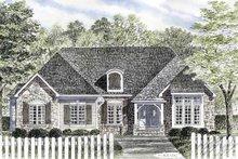 Architectural House Design - Cottage Exterior - Front Elevation Plan #316-267