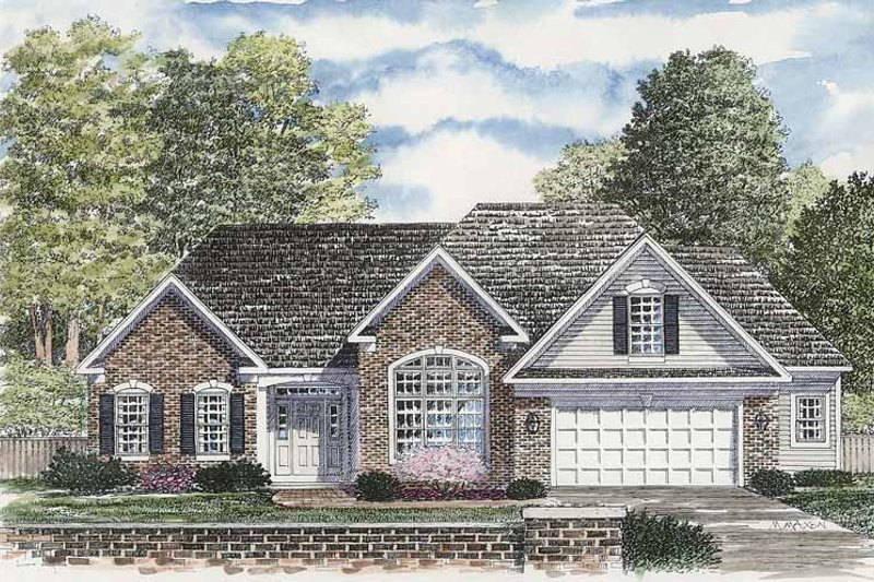 House Plan Design - Ranch Exterior - Front Elevation Plan #316-247