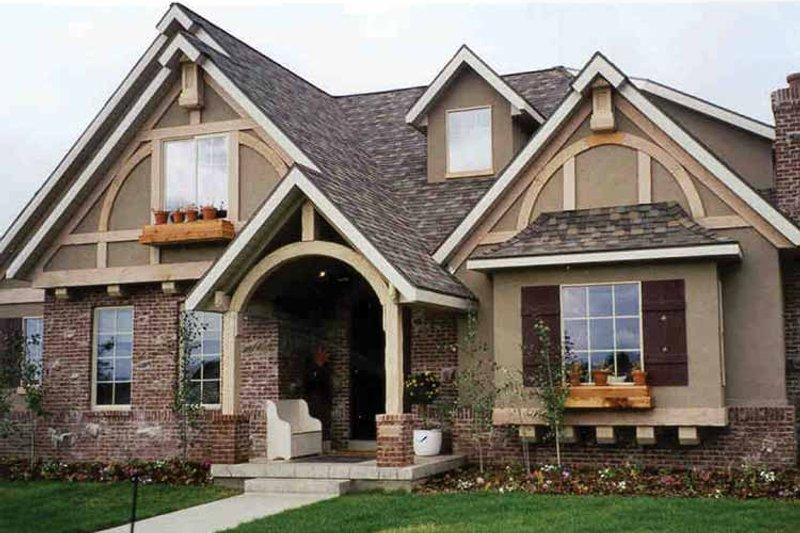 House Plan Design - European Exterior - Front Elevation Plan #937-4