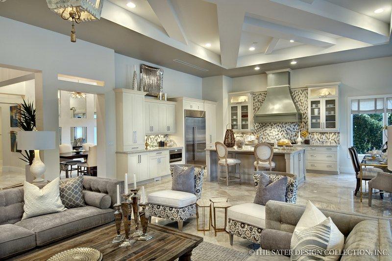 Mediterranean Interior - Kitchen Plan #930-444 - Houseplans.com