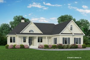 Architectural House Design - Ranch Exterior - Front Elevation Plan #929-403