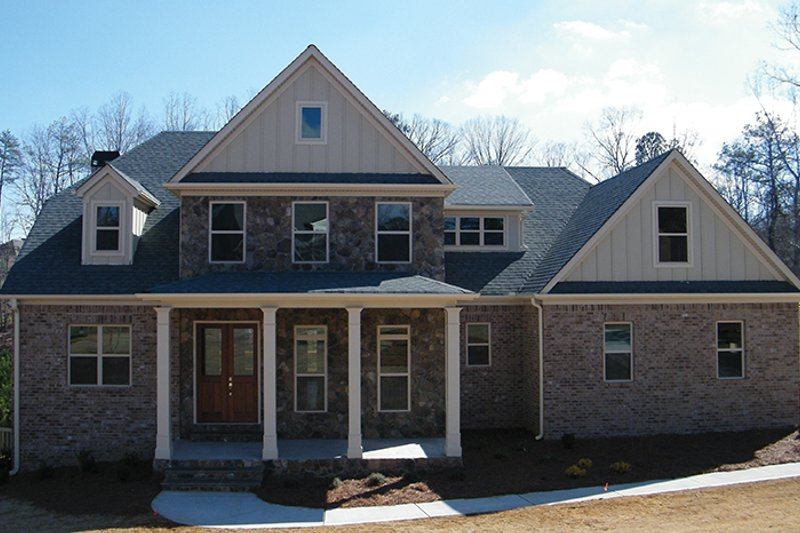 Country Exterior - Front Elevation Plan #927-374 - Houseplans.com