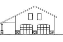 House Plan Design - Contemporary Exterior - Other Elevation Plan #117-855
