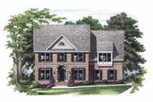 House Plan Design - Colonial Exterior - Front Elevation Plan #927-470