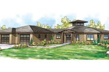 Home Plan - Ranch Exterior - Front Elevation Plan #124-864