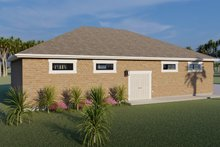 Dream House Plan - Traditional Exterior - Other Elevation Plan #1060-79