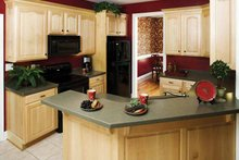House Design - Country Interior - Kitchen Plan #929-672