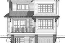 Traditional Exterior - Rear Elevation Plan #928-286