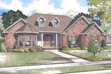 House Plan Design - Country Exterior - Front Elevation Plan #17-2915