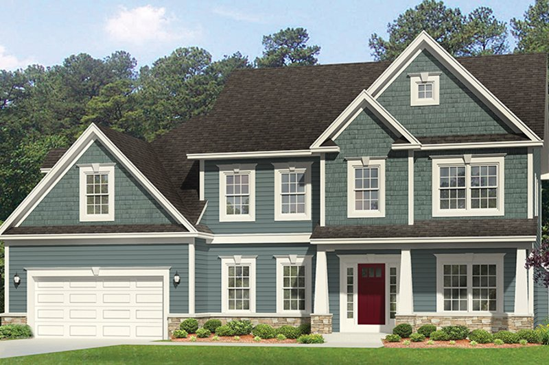 House Plan Design - Traditional Exterior - Front Elevation Plan #1010-129