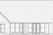 Farmhouse Style House Plan - 3 Beds 2.5 Baths 1814 Sq/Ft Plan #1074-1 Exterior - Rear Elevation