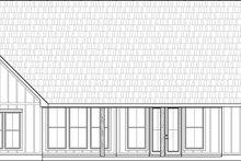Farmhouse Exterior - Rear Elevation Plan #1074-1