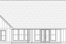 Home Plan Design - Farmhouse Exterior - Rear Elevation Plan #1074-1