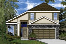 House Plan Design - Contemporary Exterior - Front Elevation Plan #1015-45