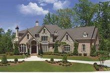 House Plan Design - European Exterior - Front Elevation Plan #54-293