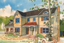 House Plan Design - Traditional Exterior - Front Elevation Plan #928-46