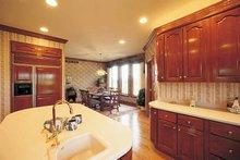 Contemporary Interior - Kitchen Plan #72-788