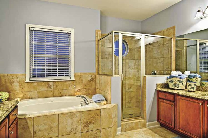 Country Interior - Bathroom Plan #930-367 - Houseplans.com