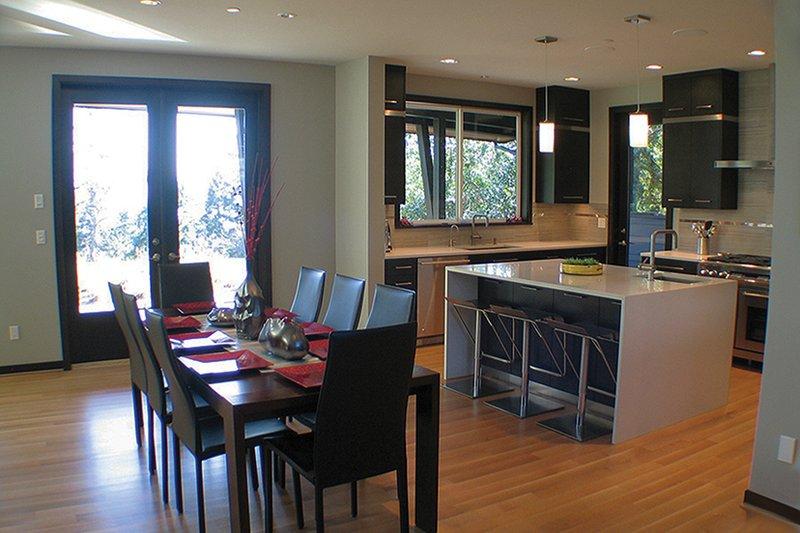 Contemporary Interior - Dining Room Plan #132-563 - Houseplans.com