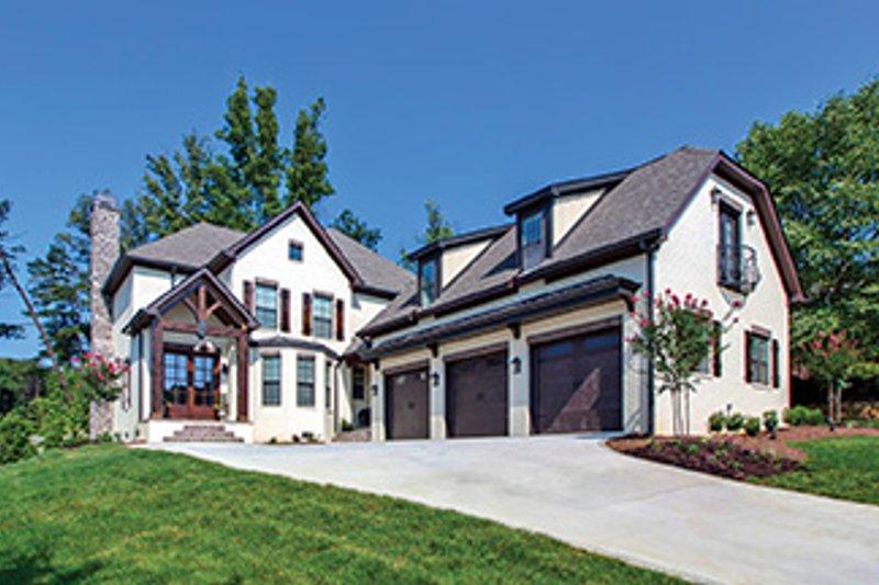 Dream House Plan - European Exterior - Front Elevation Plan #927-362