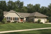 Craftsman Style House Plan - 2 Beds 2.5 Baths 1687 Sq/Ft Plan #928-125 Exterior - Front Elevation