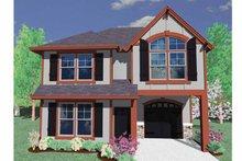 Prairie Exterior - Front Elevation Plan #509-138