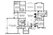 Craftsman Style House Plan - 4 Beds 3.5 Baths 3151 Sq/Ft Plan #413-130 Floor Plan - Main Floor Plan