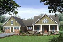 Home Plan - Craftsman Exterior - Front Elevation Plan #21-381