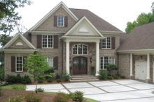 Dream House Plan - Traditional Exterior - Front Elevation Plan #1054-24