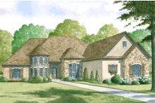Home Plan - European Exterior - Front Elevation Plan #923-2