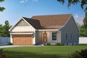 Farmhouse Style House Plan - 3 Beds 2 Baths 1617 Sq/Ft Plan #20-2479