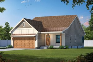 Farmhouse Exterior - Front Elevation Plan #20-2479