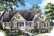 Country Style House Plan - 4 Beds 3 Baths 2097 Sq/Ft Plan #929-9 Exterior - Front Elevation