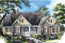 House Plan Design - Country Exterior - Front Elevation Plan #929-9