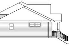 Home Plan - Craftsman Exterior - Other Elevation Plan #124-889