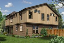 Dream House Plan - Modern Exterior - Rear Elevation Plan #48-628