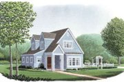 Cottage Style House Plan - 3 Beds 2.5 Baths 1281 Sq/Ft Plan #410-162 Exterior - Front Elevation
