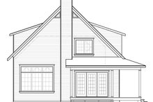 Farmhouse Exterior - Rear Elevation Plan #23-2582