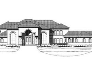 Traditional Exterior - Front Elevation Plan #411-134