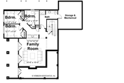 Traditional Style House Plan - 4 Beds 3 Baths 3614 Sq/Ft Plan #928-44 Floor Plan - Lower Floor Plan