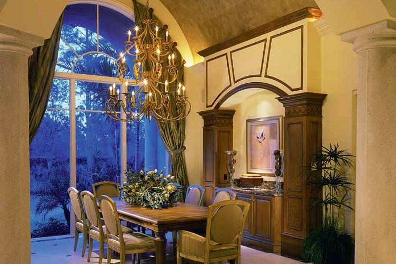 Mediterranean Interior - Dining Room Plan #930-319 - Houseplans.com